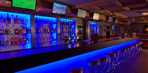 Time Out Sports Bar - Bar View