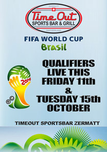 World Cup 2014 Qualifiers