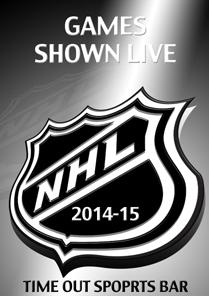 NHL Season 2014-15