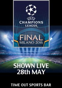 champions league cup final date