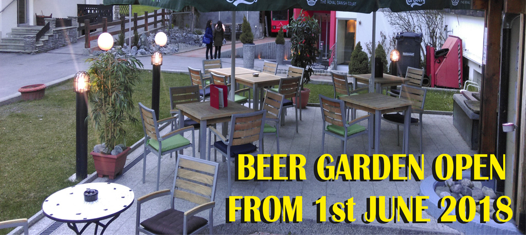 Time Out Sport Bar Zermatt - Beer Garden Open