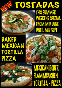 Time Outs Sports Bar - Tostadas Summer