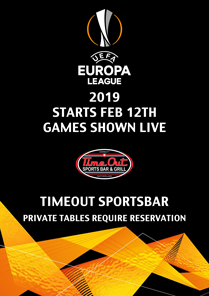 Timeout Sportsbar - Europa League 2019